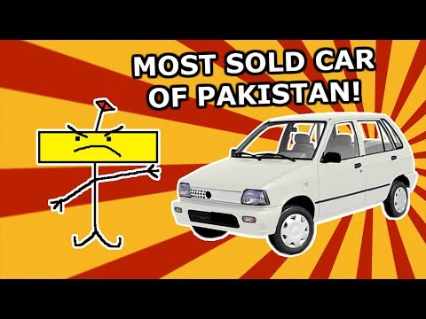 Meet The National Car Of Pakistan - Suzuki Mehran Aka Boss