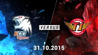 CKTG 2015: SKTelecom T1 vs KOO Tigers (Game 4)
