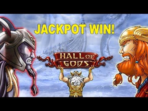 Hall of Gods JACKPOT!