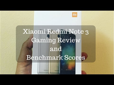 Redmi Note 3 Gaming Review