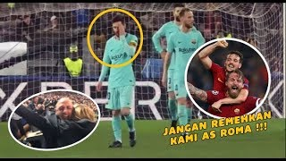 Video Lihat Reaksi Lionel Messi dan Penonton Usai AS ROMA Melakukan Epic Comeback MP3, 3GP, MP4, WEBM, AVI, FLV Juli 2018