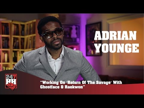 Adrian Younge - Working On Return Of The Savage With Ghostface And Raekwon (247HH Exclusive)