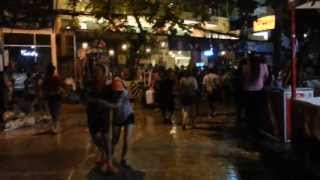 Khao San Road Nightlife Songkran 2013