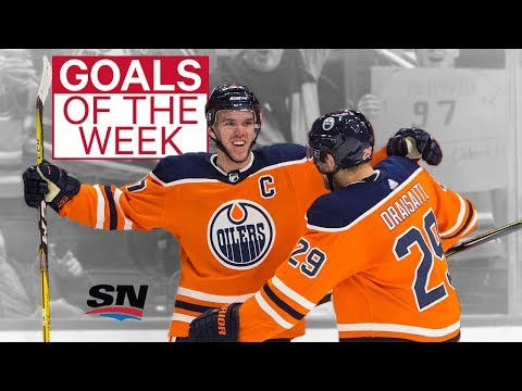 Video: Goals of the Week: McDavid dominates