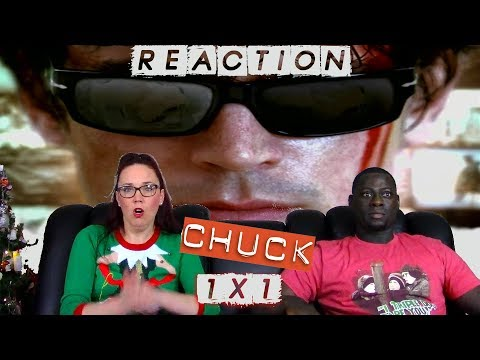 "CHUCK Season 1 Episode 1 ""Pilot"" (1X01) YT REACTION (FUll reaction on Patreon)"