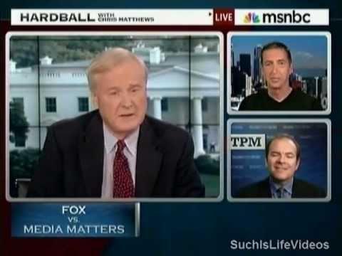 Harball - Fox News Vs. Media Matters