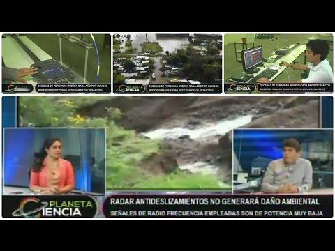 Perú: Ingenieros desarrollan radar para anticipar huaicos. (VIDEO)