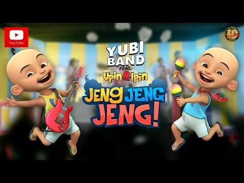 Upin & Ipin Jeng, Jeng, Jeng! - Yubi Band Feat. Upin & Ipin [Official Music Video]
