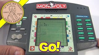 Monopoly Electronic Hand-Held Game, 1997 Parker Brothers