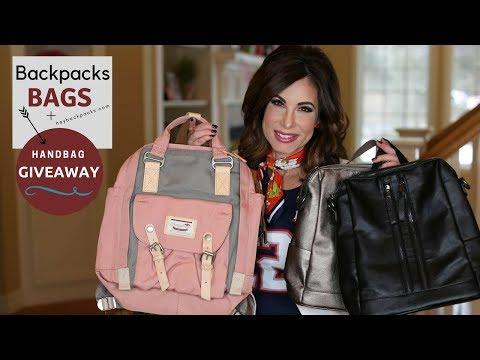 Backpacks, Bags GUIDE + A Handbag Giveaway