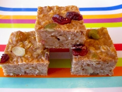 Healthy Breakfast Recipes: How to Make Oatmeal Bars On-The-Go – Weelicious