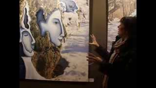 Art Interview,  Gautell Master in History of Art,  2013 Paris, FRENCH