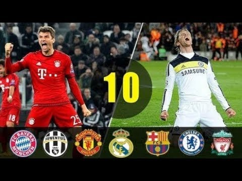 ►► Top 10 Most Thrilling UCL Matches In Football ● Dramatic Football Moments