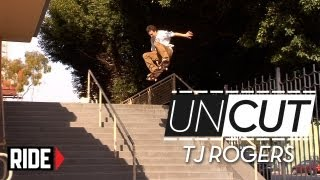 TJ Rogers Switch Frontside 360 Hollywood 16 - UNCUT