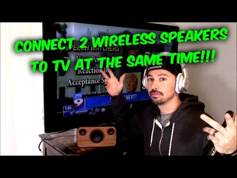 How to connect wireless speakers and headphones to TV, easy way