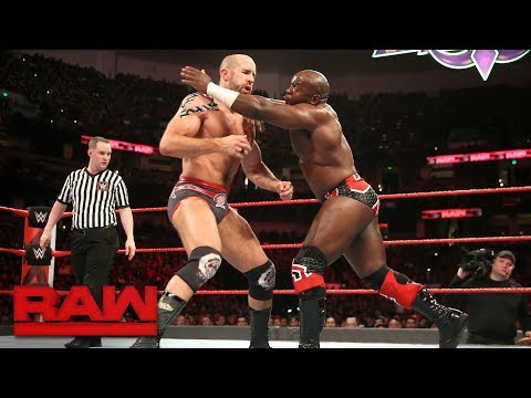 Cesaro & Sheamus vs. Titus Worldwide - 2-out-of-3 Falls Raw Tag Team Title Match: Raw, Feb. 26, 2018