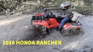 3. 2018 Honda Rancher doesn't need mud tires?