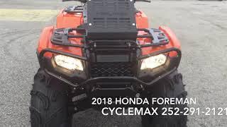 7. 2018 Honda Foreman 500