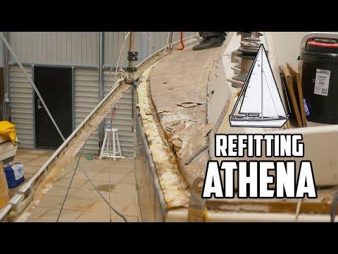 Sail Life - Hatch frame, toe rail and the dang joint (deck-cabin top) - DIY sailboat refit_Legjobb videók: Vitorlázás