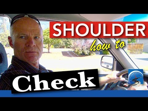 How to Shoulder Check :: Head Check  | Pass a Road Test Smart