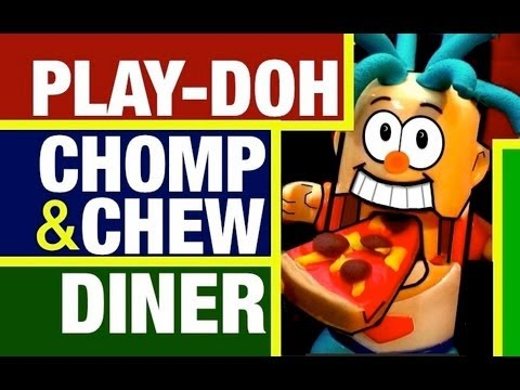 Chomp - Play-Doh Food Making and eating Fun! With the Play Doh