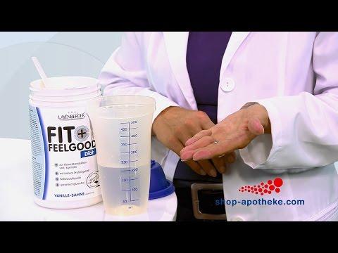 Abnehmen mit dem Schlank-Diät Pulver von Layenberger Fit+Feelgood
