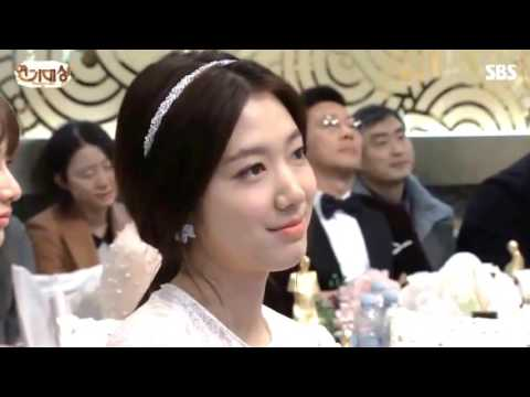 Park Shin Hye and Lee Min Hoo  WEDDING !