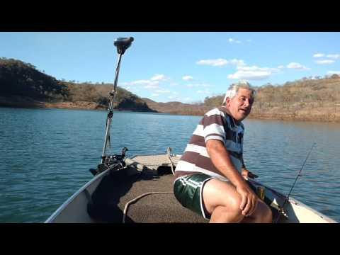 Pesca  no Lago Serra do Facão - Campo Alegre de Goiás