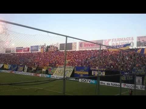 Luque vs Paranaense...   Recibimiento - Chancholigans - Sportivo Luqueño