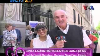 Video CINTA LAURA KIEHL - Raih Gelar Sarjana Cum Laude @Go Sport - Rcti 23-05-2014 MP3, 3GP, MP4, WEBM, AVI, FLV Februari 2019