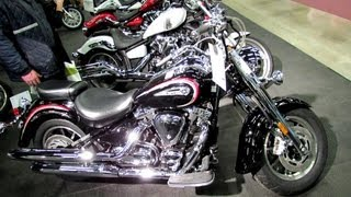 8. 2013 Yamaha Road Star S - Walkaround - 2013 Montreal Motorcycle Show