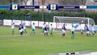 Dilettanti - Promozione, highlights Arcetana-Ganaceto 2-2