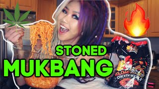 MUNCHIES MUKBANG! SPICY NOODLES CHALLENGE by Kimmy Tan