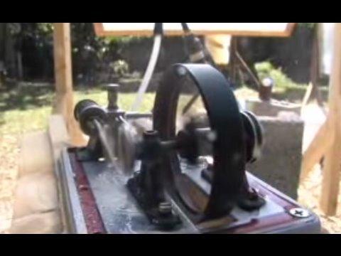 Fresnel Lens + STEAM ENGINE 3 GREENPOWERSCIENCE Steam boiler solar scorcher