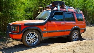 Overland 4x4 Land Rover Discovery TD5