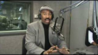 Steve Harvey Talks about Katt Williams with Frankie Darcell