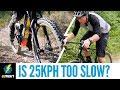 Bike Gravel Road Climbing Comparison | Is A 25Kph Limit Too Slow?