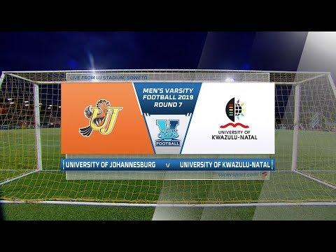 Varsity Football | UJ v UKZN  | Highlights
