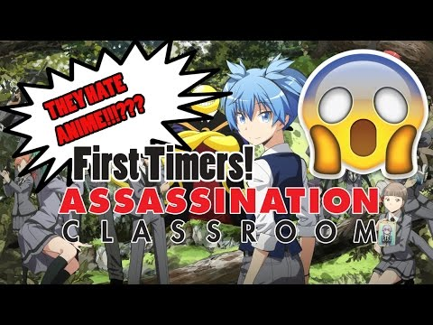 Video THESE GUYS HATE ANIME!!!??? First Timers Watching Assassination Classroom! download in MP3, 3GP, MP4, WEBM, AVI, FLV January 2017