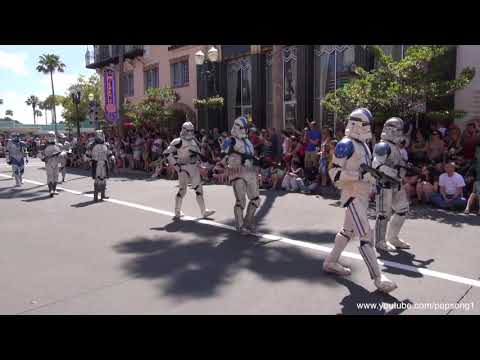 Walt Disney - Here's the parade and motorcade from the opening day of Star Wars Weekends at Disney's Hollywood Studios. Filmed on May 17th, 2013. Subscribe to my YouTube c...