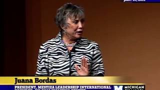 2011 Business&Finance MLK Convocation - Juana Bordas - 01/17/11
