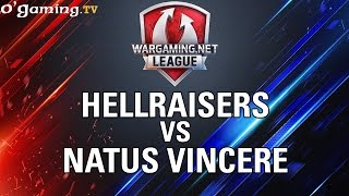 HellRaisers vs Natus Vincere - WOT Wargaming Gold League Europe - Group Stage