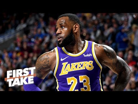 Video: Is LeBron's first year with the Lakers already a disappointment? | First Take