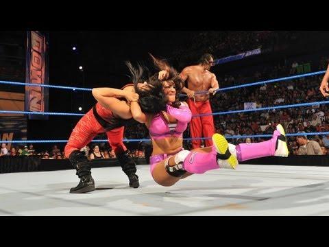 The Great Khali & Layla vs. Antonio Cesaro & Aksana: SmackDown July 3, 2012