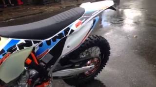 10. 2015 ktm 250exc-f SIX DAYS start up!!