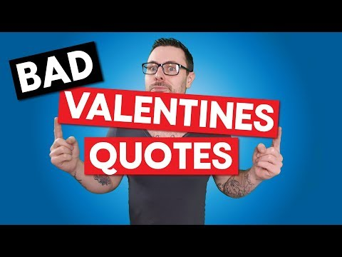 It's Valentine's Day! FUNNY VALENTINES DAY QUOTES - Claire Also Bought A Kia!