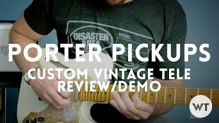 Video Porter Pickups - Custom Vintage Tele pickups review MP3, 3GP, MP4, WEBM, AVI, FLV Juni 2018