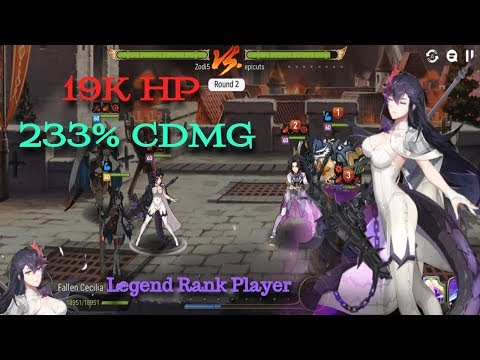 [E7] +15 Fallen Cecilia In Guild Wars?! 233% CDMG Bruiser!! *Stats In Description!