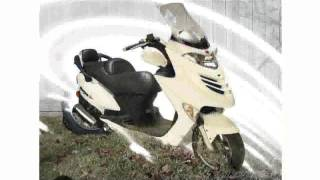 6. 2007 KYMCO Grand Vista 250 Features & Walkaround