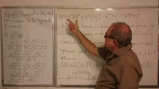 Algebra Intermedia - Lección 12 - B (racionalización Del Binomio Surdo De Orden Tres)